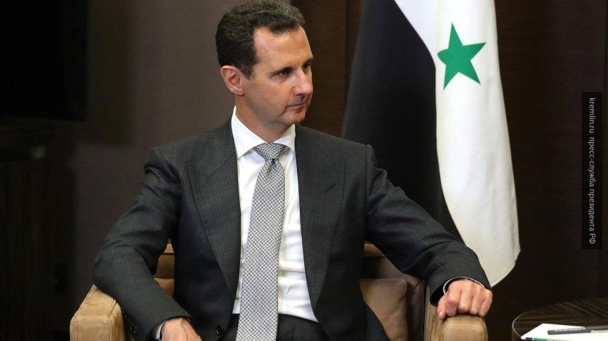 Асад: более 10 лет потребуется для восстановления экономики Сирии