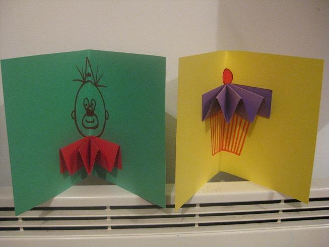 Открытки из полосок цветной бумаги