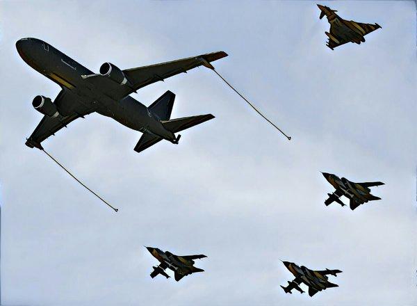 Самолеты НАТО заблудились из…
