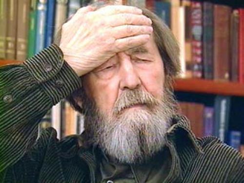 Солженицин в школьной программе - это идеологическая прививка, закрывающая направление к будущему