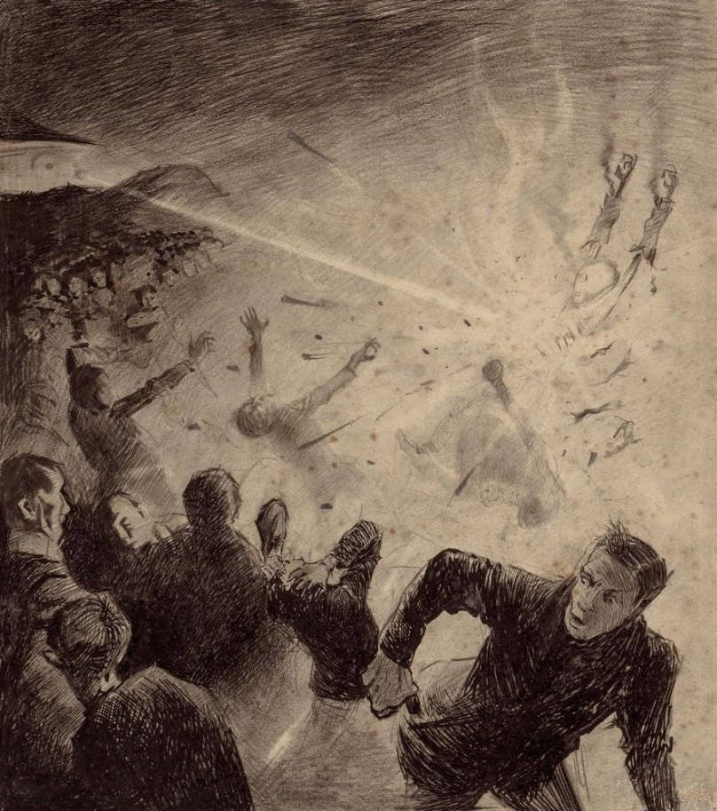 """ВЕЛИКИЙ ПОЖАР В ЧИКАГО 1871 г. и """"ВОЙНА МИРОВ"""" ГЕРБЕРТА УЭЛЛСА - есть ли что то общее?"""