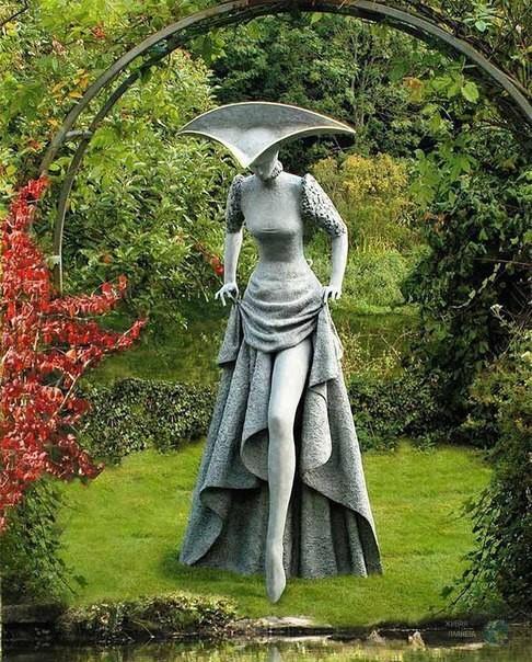 Чарующие скульптуры