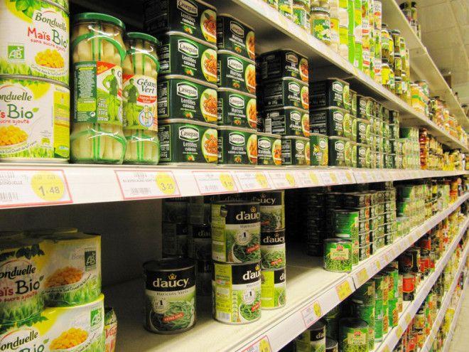 5 Консервированные овощи и фрукты выживание еда запас полезная еда продовольствие продукты советы