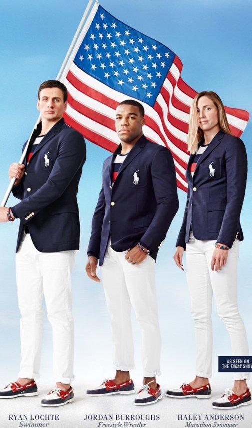 Олимпийская сборная США получила форму с флагом России на груди