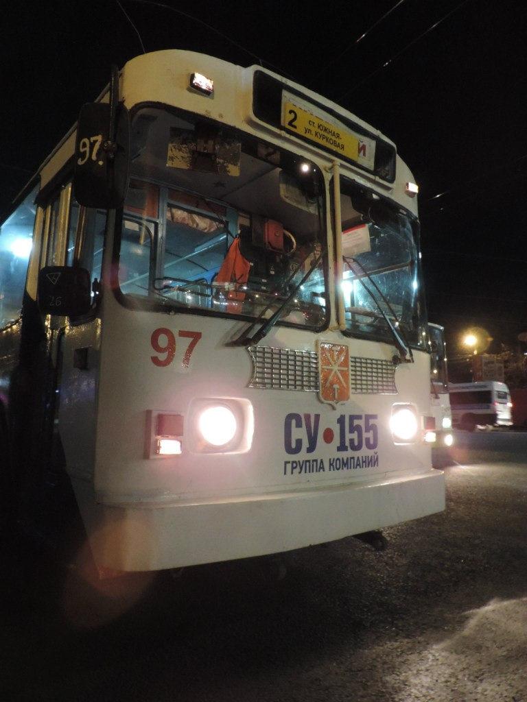 Как я работала водителем троллейбуса