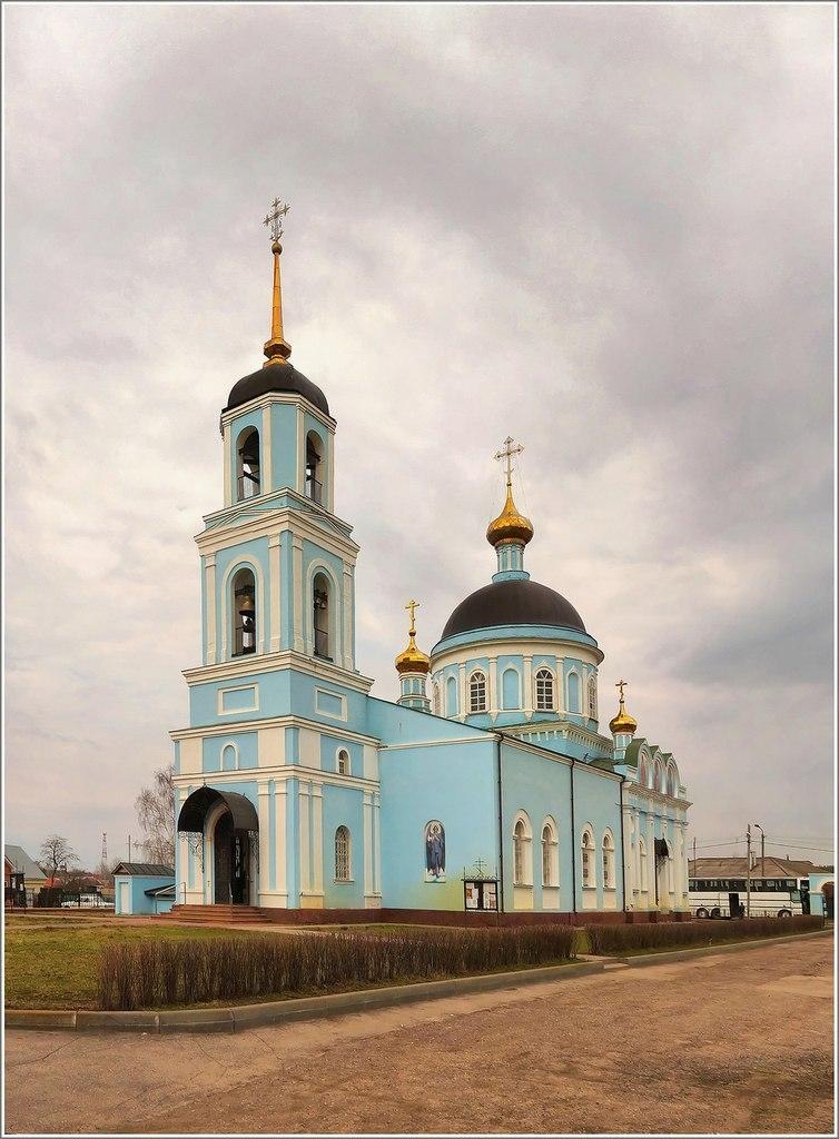 Рязанская область, поселок Солотча.