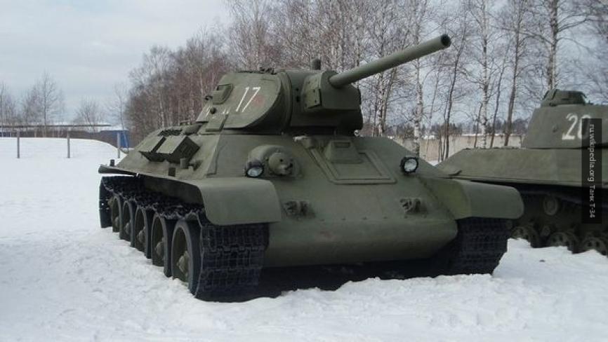 Стоявшие на вооружении армии Лаоса танки Т-34 вернулись в Россию