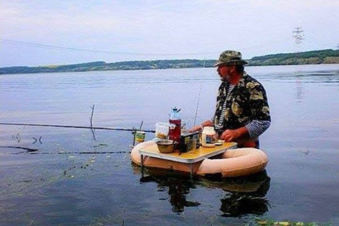 ну да рыбалка же лучше чем
