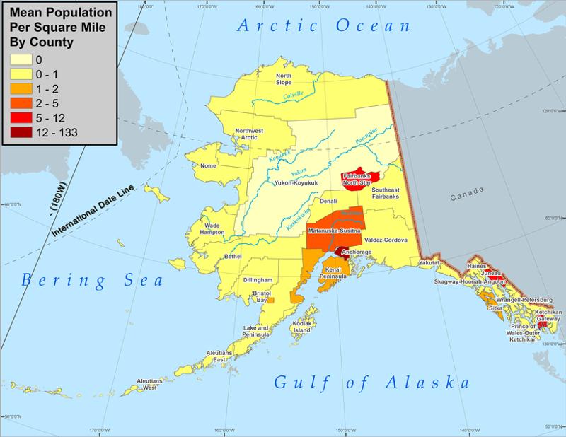 Чукотка и аляска: объективное сравнение аляска, интересное, чукотка