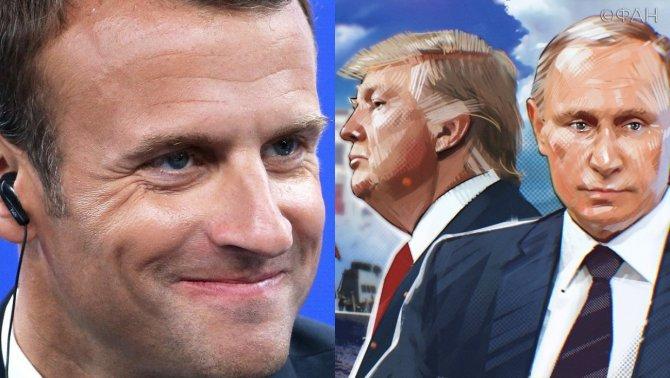 В Париже: Президент РФ возло…