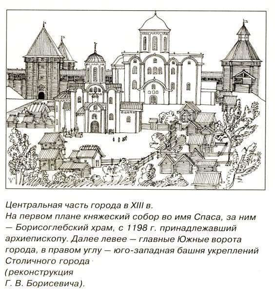 Реконструкции видов Старой Рязани