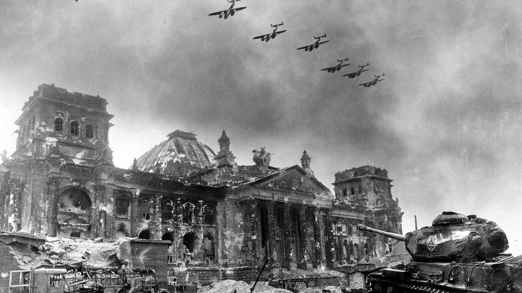 Оборона Берлина: Французы-эсэсовцы и голландские военные