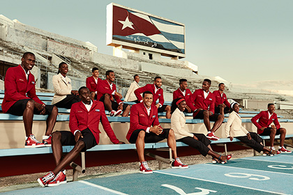 Christian Louboutin сшил олимпийскую форму для кубинцев