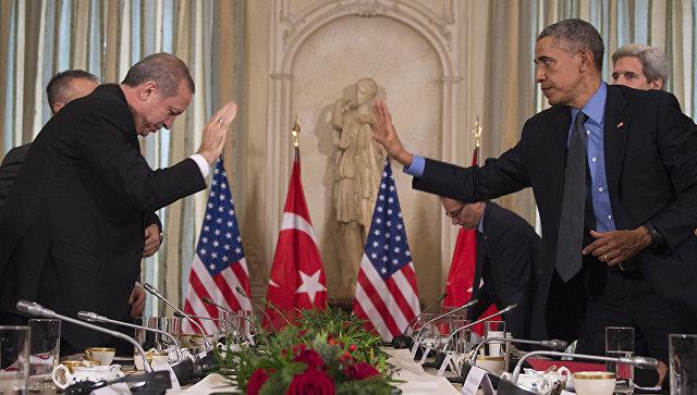 Эрдоган признался, что разочарован в США