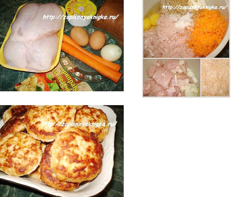 Как сделать котлеты из филе курицы сочными и