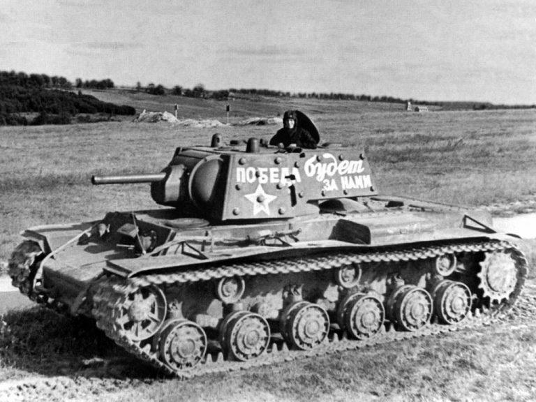 Танк КВ-1: почему немцы называли его чудовищем