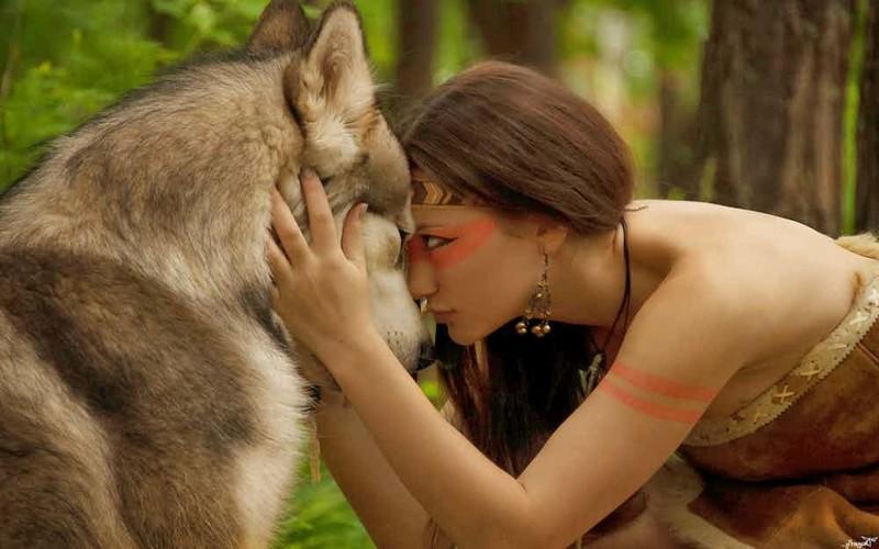 Лобо - девочка-волк дети, наедине с природой, опасность, спасение