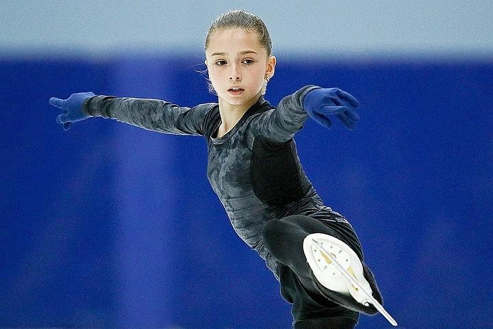 13-летняя российская фигуристка Камила Валиева выиграла этап Гран-При в Куршевеле. Ее называют следующей Алиной Загитовой