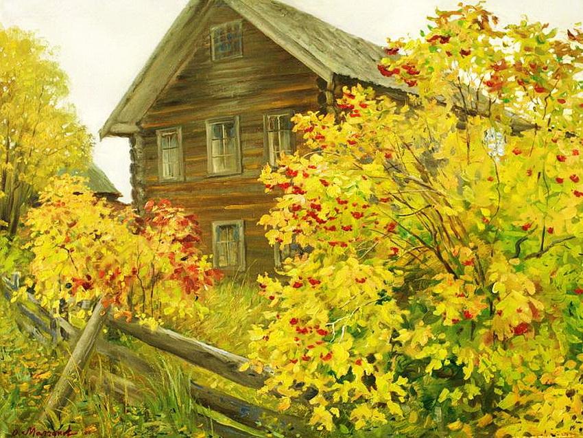 Русский художник Олег Молчанов