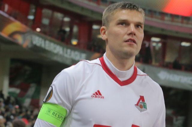 Футболист Денисов получил штраф за оскорбление инспектора допинг-контроля