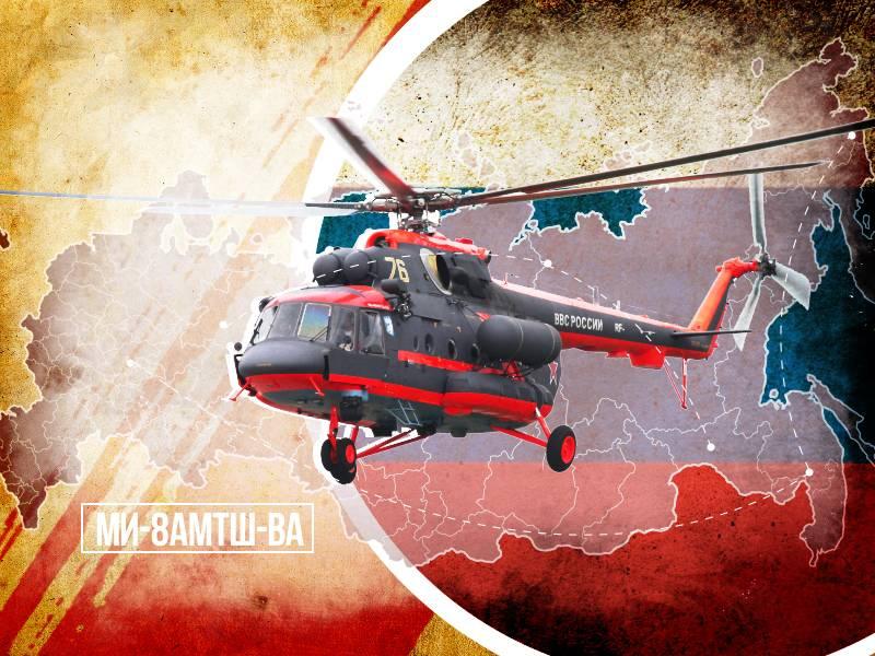 Вертолет Ми-8АМТШ-ВА пойдет на экспорт