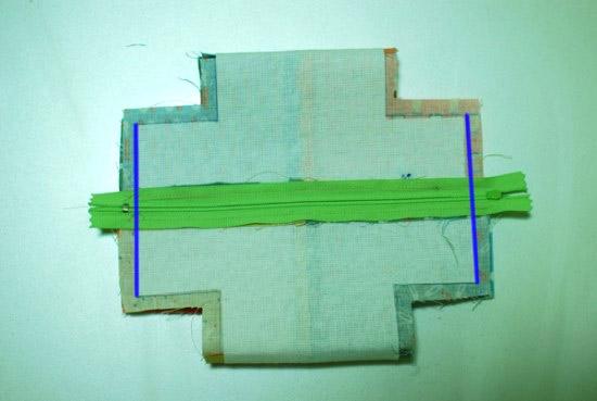Шьем оригинальную косметичку-кошелек в форме куба: Пошаговый мастер-класс!