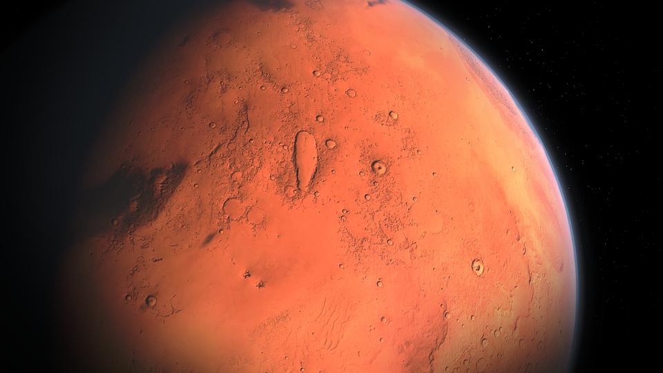 По неизвестным причинам из атмосферы Марса исчез весь метан