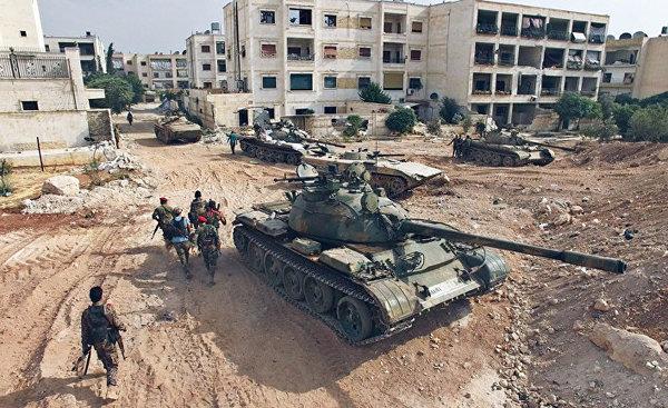 Не русский ли спецназ стоит за большими ссорами террористов в Сирии?