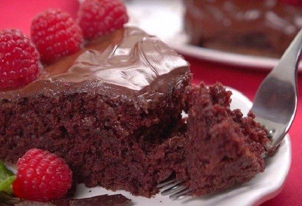 Моментальный шоколадный торт