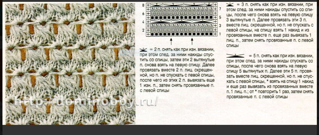 ВЯЖЕМ. Самые красивые узоры на спицах (2)