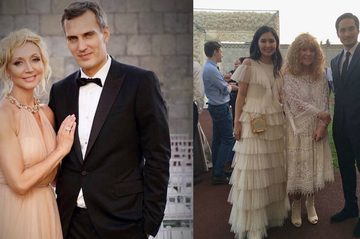 Кристина Орбакайте vs Алла Пугачева: образы певиц на свадьбе Никиты Преснякова