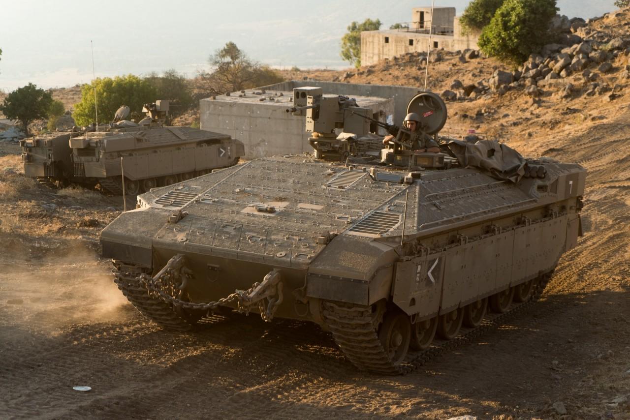 Поставки вооружения и техники в Армию обороны Израиля в 2017 году