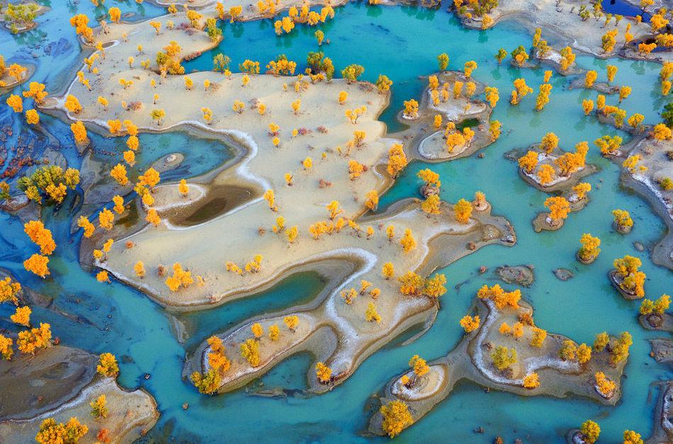 15 самых красивых фотографий нашей планеты с высоты птичьего полета