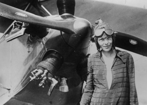 Амелия Эрхарт: первая в небе