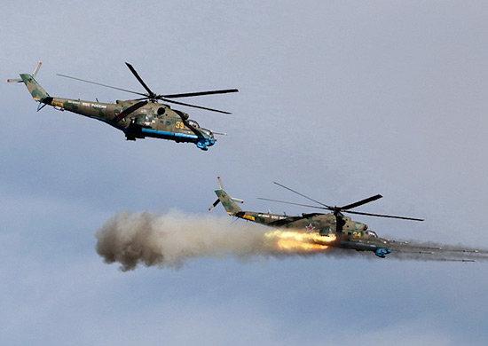Российские боевые вертолеты разгромили террористов в Хомсе, открыв путь для продвижения САА