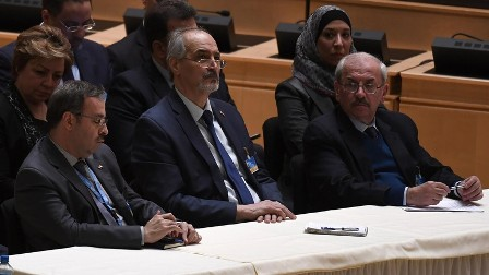 Представители Дамаска изучают подготовленную спецпосланником ООН «бумагу»