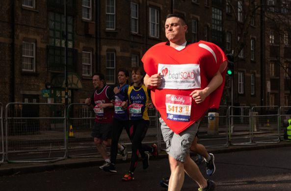 В Лондоне прошел необычный марафон