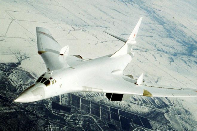 Ядерный Блэкджек: российский Ту-160М2 напугал противника