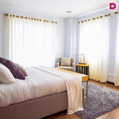 Как сделать спальню теплой и уютной? Советы по подбору комфортного ковра