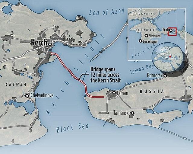 Украине «перекроют» Керченский пролив
