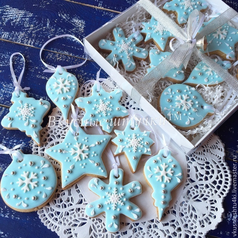 Новогоднее печенье в подарок