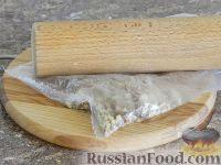 Фото приготовления рецепта: Салат с кальмарами и шампиньонами - шаг №7