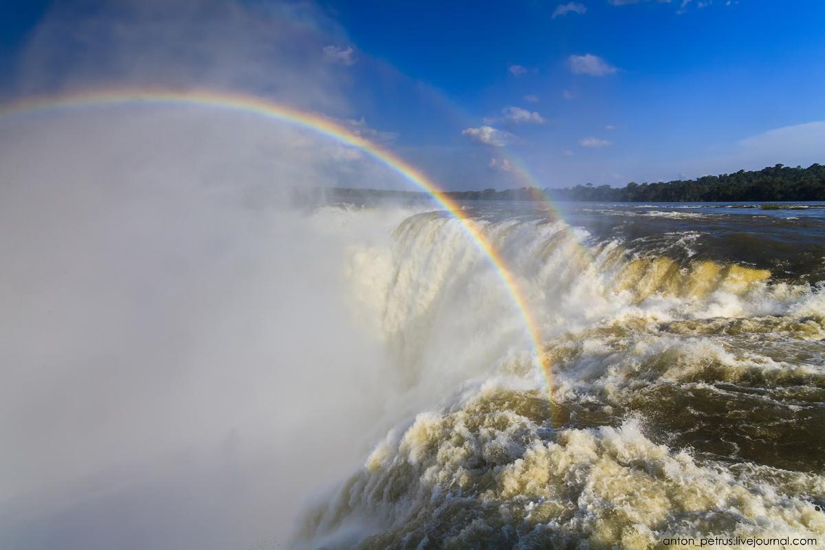 Большая вода - водопады Игуасу