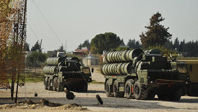 Силы ПВО на базе в Хмеймиме …