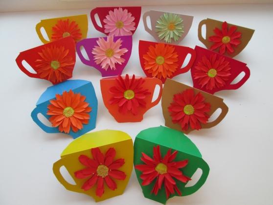 Поделки для бабушек своими руками цветы