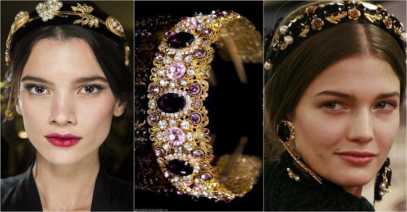 Обруч с камнями — самый стильный аксессуар этого года. 10 образов для царицы в повседневной жизни