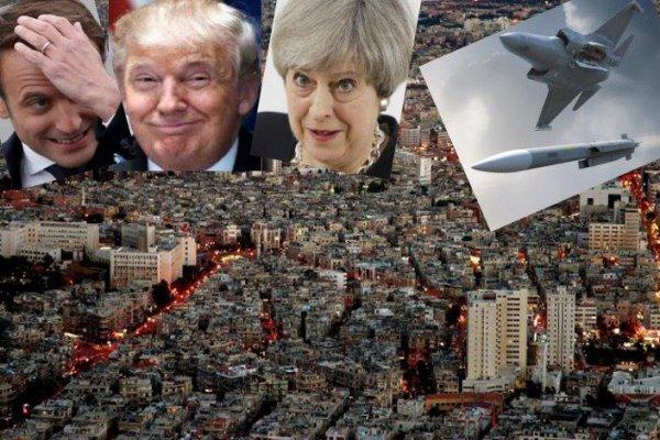 США анонсируют новый удар по Сирии. Россия на войну пока не пришла