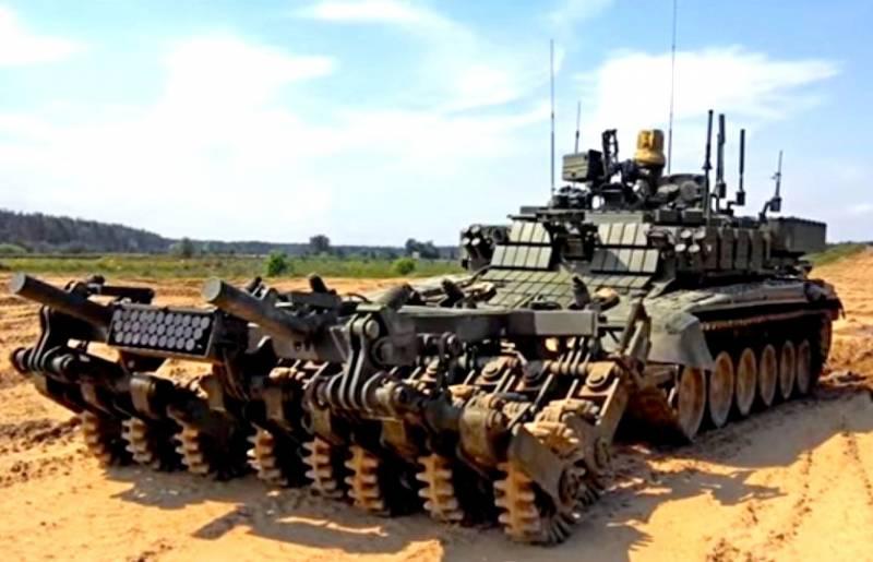 «Проход-1»: что умеет роботизированный монстр на базе Т-90