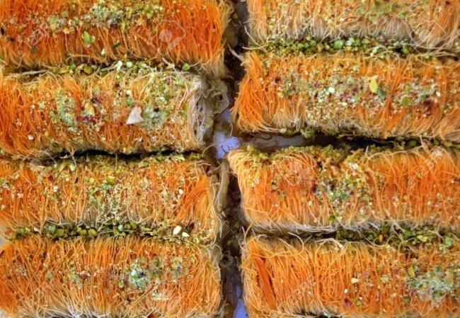 Кадаиф базар, пахлава, рахат-лукум, сладости, турция