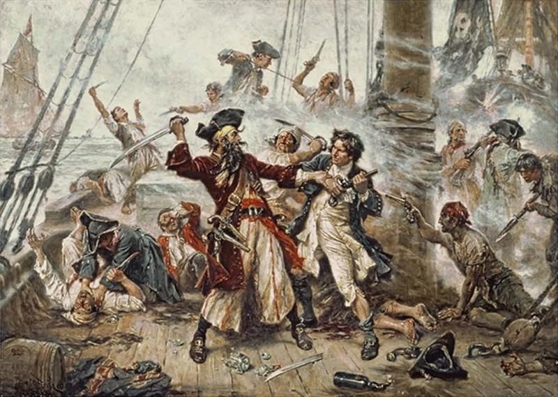 5. Пираты 18 века Георгианская эпоха, англия, британия, великобритания